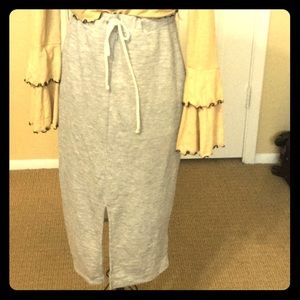 Athleisure drawstring UO silence and noise skirt